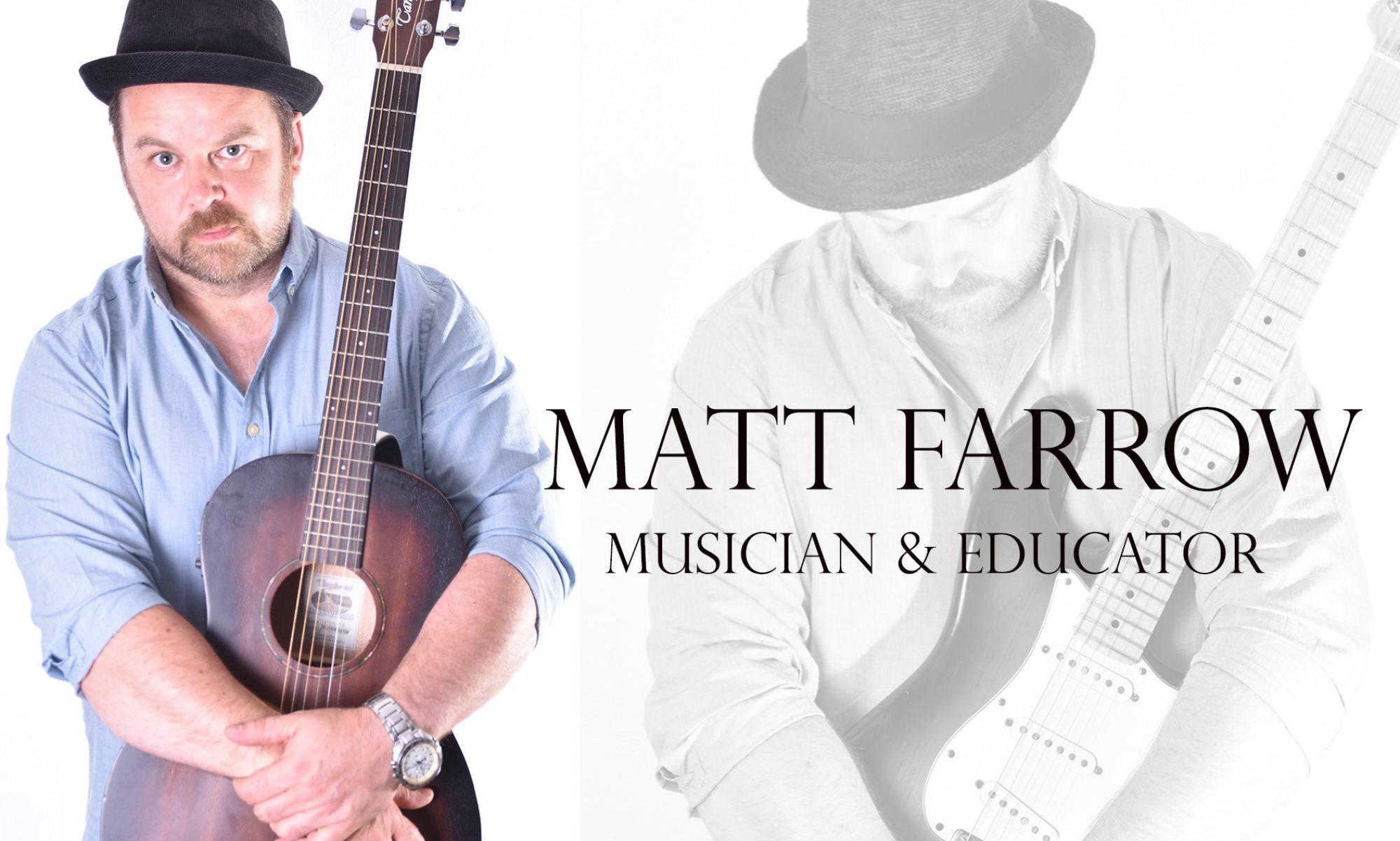 Matt Farrow Guitar Teacher Hemel Hempstead
